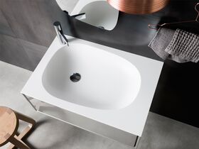 Issy Glide Wall Hung Vanity Unit Single Basin