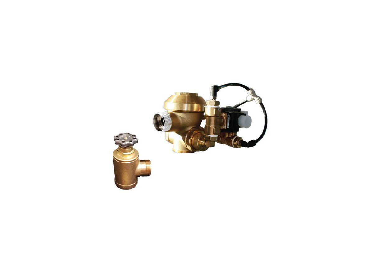 Zurn Dual Flush Low Pressure Flush Valve with Solenoid & Piezo Button