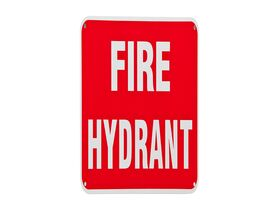 Location Signs - Fire Hydrant - Metal