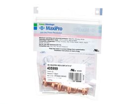 ">B< Maxipro Reducer 3/4"" x 1/2"""" Bag of 2"""