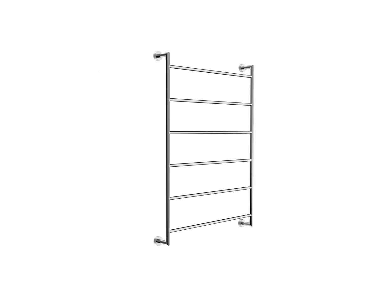 Mizu Drift Heated Towel Rail 1050 x 760mm Polished Stainless Steel