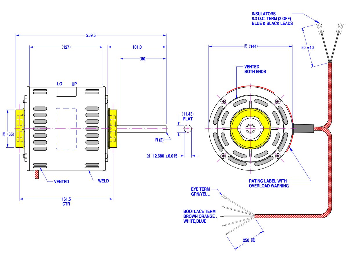 Fasco Fan Motor Wiring   Fusebox and Wiring Diagram layout uncle ...