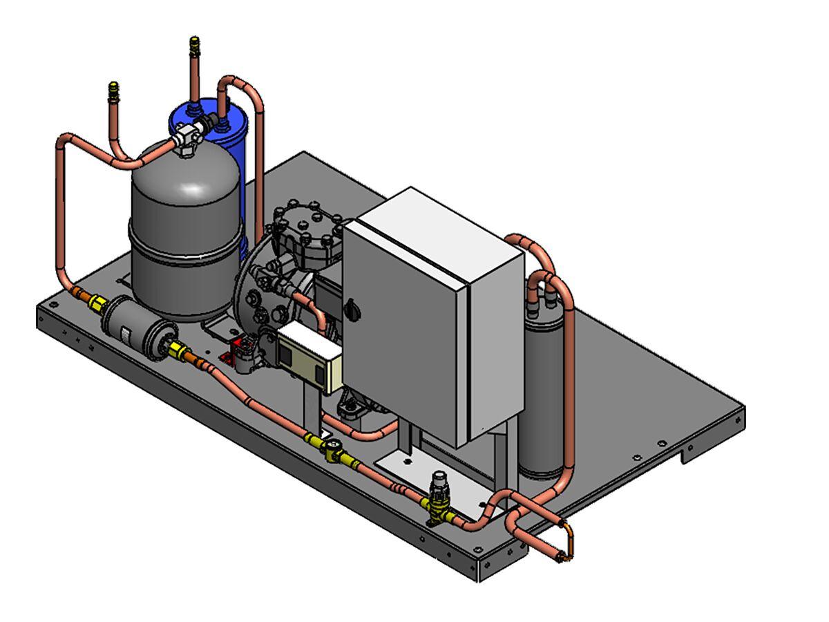 Tecumseh Semihermetic Receiver Unit SHR4521ZHR